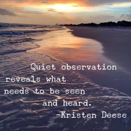 Quote about being an introvert by Kristen Deese